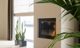 Šiltas modernus interjeras