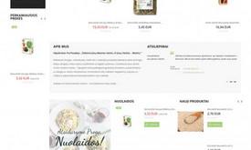 Internetinių puslapių ir el. parduotuvių kūrimas
