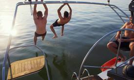 Vandens turizmas Kaune JACHTA