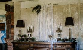 Macrame pintos dekoracijos