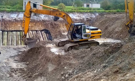 Žemės kasimas, statybinės technikos nuoma