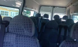 Keleivių pervežimai, mikroautobuso nuoma su vairuotoju