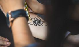 Piešiu laikinas henna chna tatuiruotes Vilniuje