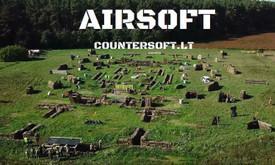 Airsoft-countersoft-šratasvydis Nuoma, Vilniuje