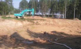 Statybinės technikos nuoma. Žemės kasimas
