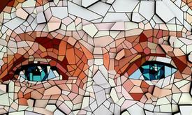 Dailininkas - dizaineris mozaikiniai paveikslai