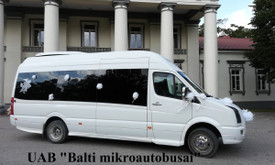 Mikroautobusų nuoma su vairuotoju įvairioms progoms