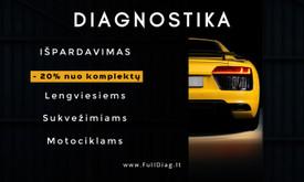 Auto diagnostikos įranga - Diagnostika Kaune