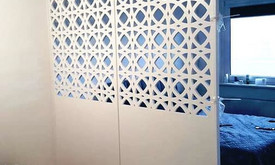 Frezavimas, ažūrinės sienelės, pertvaros