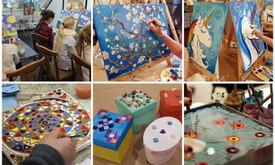 Gimtadieniai ir kūrybiškos edukacijos–vaikams, suaugusiems