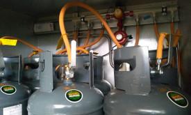 Šildymas dujų balionais,katilinių įrengimas, kitos paslaugos