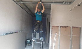 Gipso kartono montavimas 7 €/m²