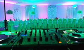 Renginių įgarsinimas, apšvietimas, DJ