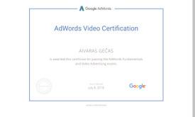 Sertifikuota Google Adwords, FB Reklama