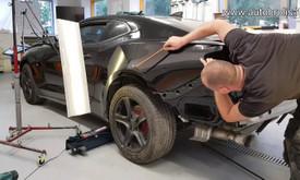 Automobilių kėbulo lyginimas be dažymo