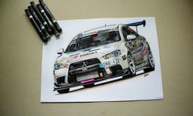 Automobilių ir kitų liustracijų piešimas