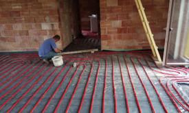 Grindų betonavimas / Pramoninių grindų betonavimas