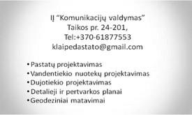 IĮ Komunikacijų valdymas