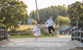 Briedis Girioj - jauki ir magiška fotografija Šiauliuose