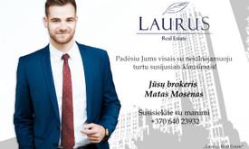 NT brokeris Matas Mosėnas - Matas Mosėnas Real Estate Team