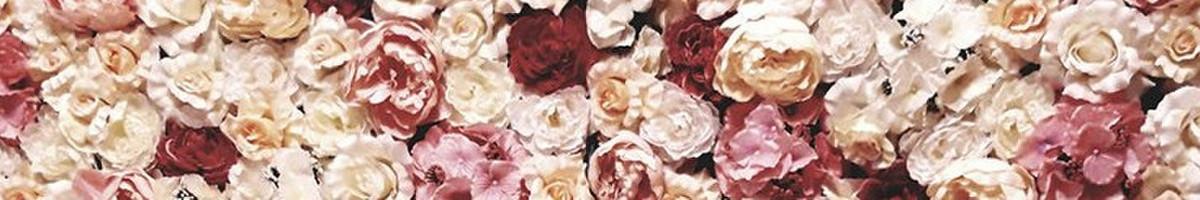 Dirbtinių gėlių sienos nuoma