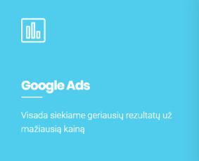 Google Ads, Facebook Ads Kūrimas ir Optimizavimas / UPdigital - Skaitmeninės Rinkodaros Agentūra / Darbų pavyzdys ID 1135499