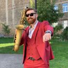 Saksofonistas Mantas Pilvelis
