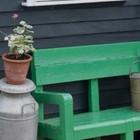 Žalias suoliukas