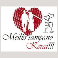 Meilės šampano KERAI Šampano staliukai jūsų šventei :) !