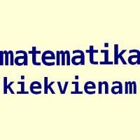 Matematika 8-12 kl. moksleiviams