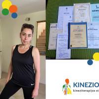 Miriam Mayzel-Meytin Kineziterapija kūdikiams Vilniuje